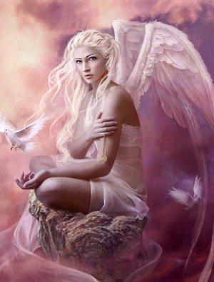 fée colombe