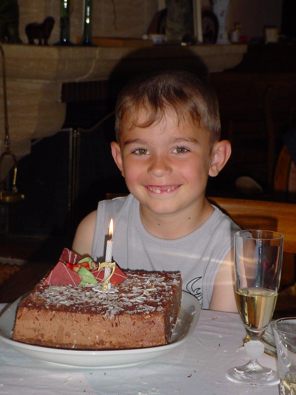 damian 7 ans