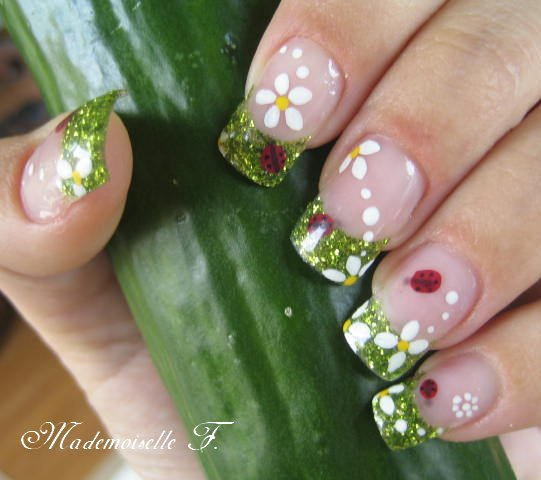 deco ongles printemps