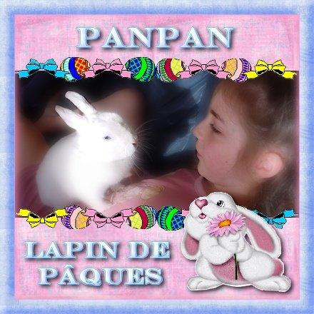 Panpan lapin de Pâques