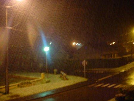 La neige cette nuit