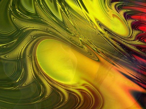 Fond d ecran vert-jaune