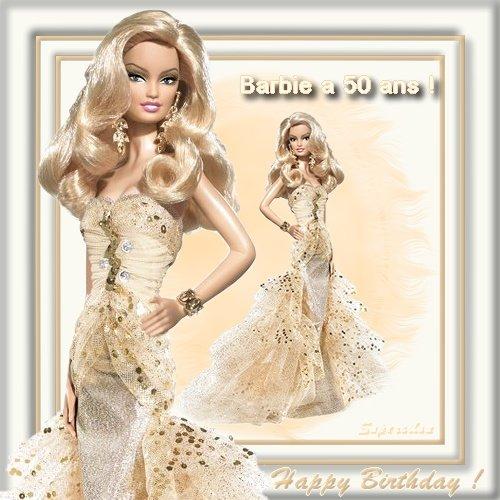 les 50 ans de barbie