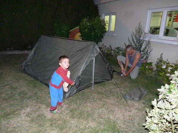 Camping au jardin c cile co for Camping au jardin